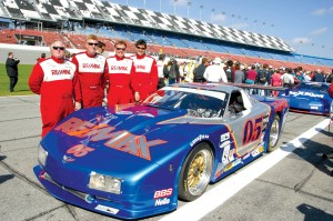 Although Dave Liniger has given up Team RE/MAX, he still races cars and motorcycles for fun. At the February 2003 Daytona 500.Dave Liniger, Craig Conway, John Metcalf and Rick Carelli.