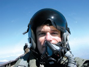 While in the Marine Corps, Alex Durr trained as a fighter pilot, flying the F-4 Phantom and the F-18 Hornet.