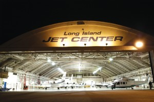 Long Island Jet Center's Republic Airport location, Farmingdale, Long Island, Hangar #4.