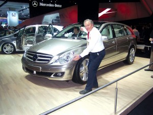 The new R-Class Mercedes is more refined, smaller and twice the price of its cousin, Chrysler Pacifica.