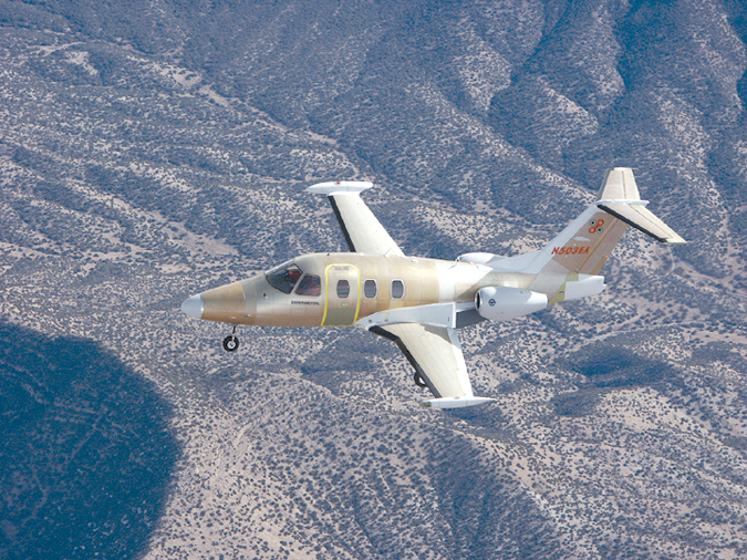 Eclipse Aviation Completes Successful Flights