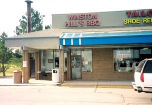 Winston Hill's Ribs and Stuff is located at 5090 E. Arapahoe Road in the Arapahoe Village Shopping Center in Centennial.