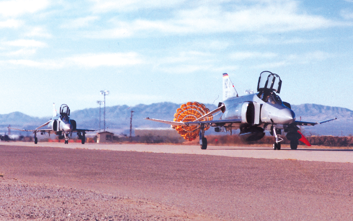 German F-4 Pilot Training Ends at Holloman AFB