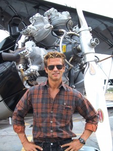 Although he's never flown an open-cockpit airplane solo, Lorenzo Lamas has gone up in a Stearman and enjoyed the ride. He says he might be interested in owning one later in life, but for now, he's more interested in an L-39 combat jet.