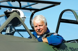 For the past 20 years, Wolfgang Czaia has served as test pilot for the Messerschmitt 262 project at Paine Field, in Everett, Wash.