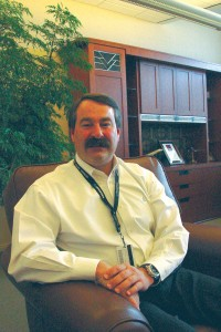 Mark Van Tine is responsible for reorganizing Jeppesen to face the electronic future of charting.