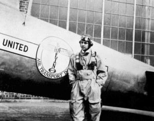 Captain Elrey Jeppesen started the company bearing his name in Salt Lake City in the 1930s.