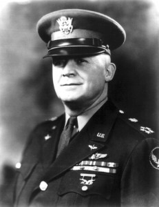 "Gen. H. H. ""Hap"" Arnold, commanding general of the Army Air Force, was reluctant to let women fly, even though the number of qualified male pilots continued to dwindle. However, after seeing what the WASP could do, he became a staunch supporter."