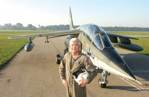 Bob Lutz said the Alpha Jet is a demanding airplane that requires a heightened state of awareness of the angle of attack at all times.