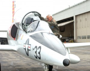 "On the days he'd prefer not to be too challenged, Bob Lutz flies his L-39, which he compares to ""a horse that's very easy to ride and very predictable."""