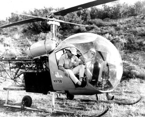 Neither Craig Hill (left), nor Kenneth Tobey were helicopter pilots.