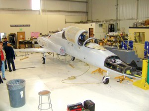 The Javelin demonstrator prototype will be used to evaluate aircraft performance, handling qualities and selected system installations.