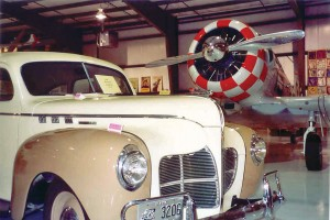1942 Desoto on permanent display.