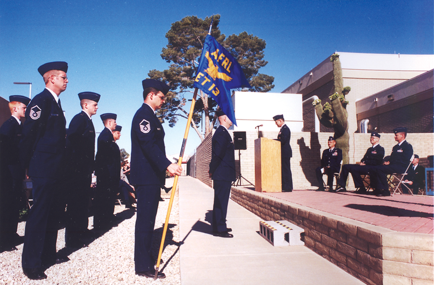 A Change in Command at the Air Force Research Lab