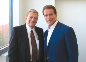 Hal Fishman has interviewed hundreds of world leaders, including California Governor Arnold Schwarzenegger, interviewed during the gubernatorial race.