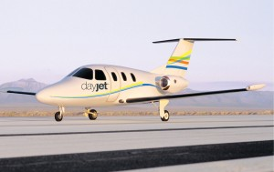 DayJet's regional service will initially rely on a fleet of 239 Eclipse 500s.