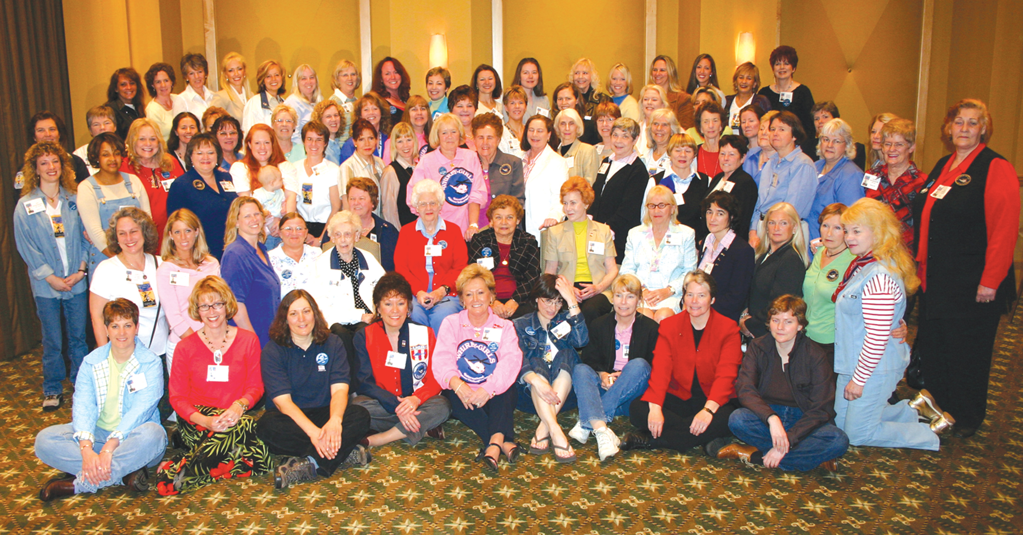 Whirly-Girls Gather for 50th Anniversary Celebration