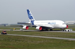 Airbus officials confirmed its A380, the largest aircraft in the world, has been pushed back two to six months in its delivery for 2006, but maintains it has no performance problems.