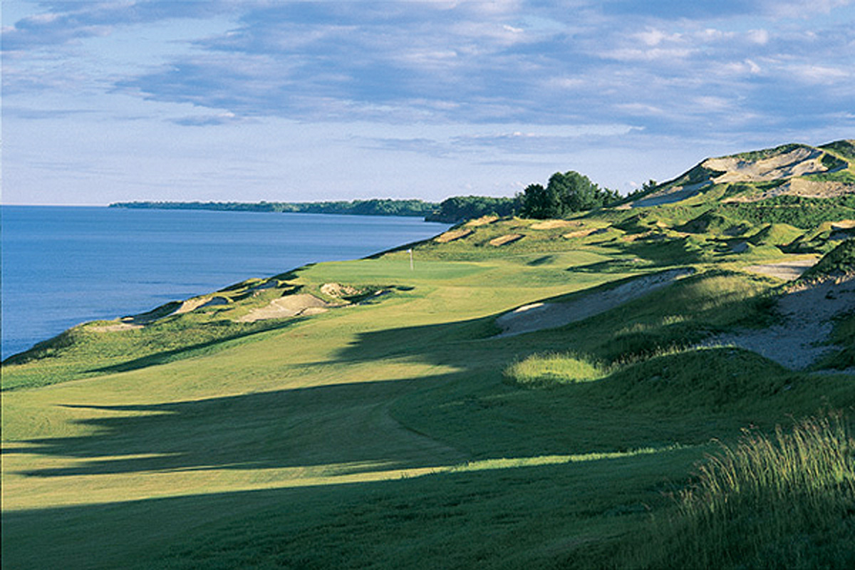 Golf with Burt Rutan and Brian Binnie at Whistling Straits or Blackwolf Run!