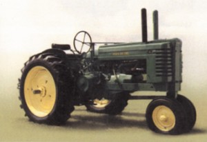 In 1937, Henry Dreyfuss designed a better, more cohesive appearance in design and safety for John Deere.