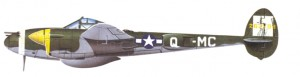 The P-38 Lightningwas Harley Ear's inspiration for the fender tail fin on the LeSabre.