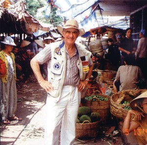 Herb Halperin's most memorable experience was visiting Ho Chi Minh City in Vietnam more than 30 years after the end of the Vietnam War.