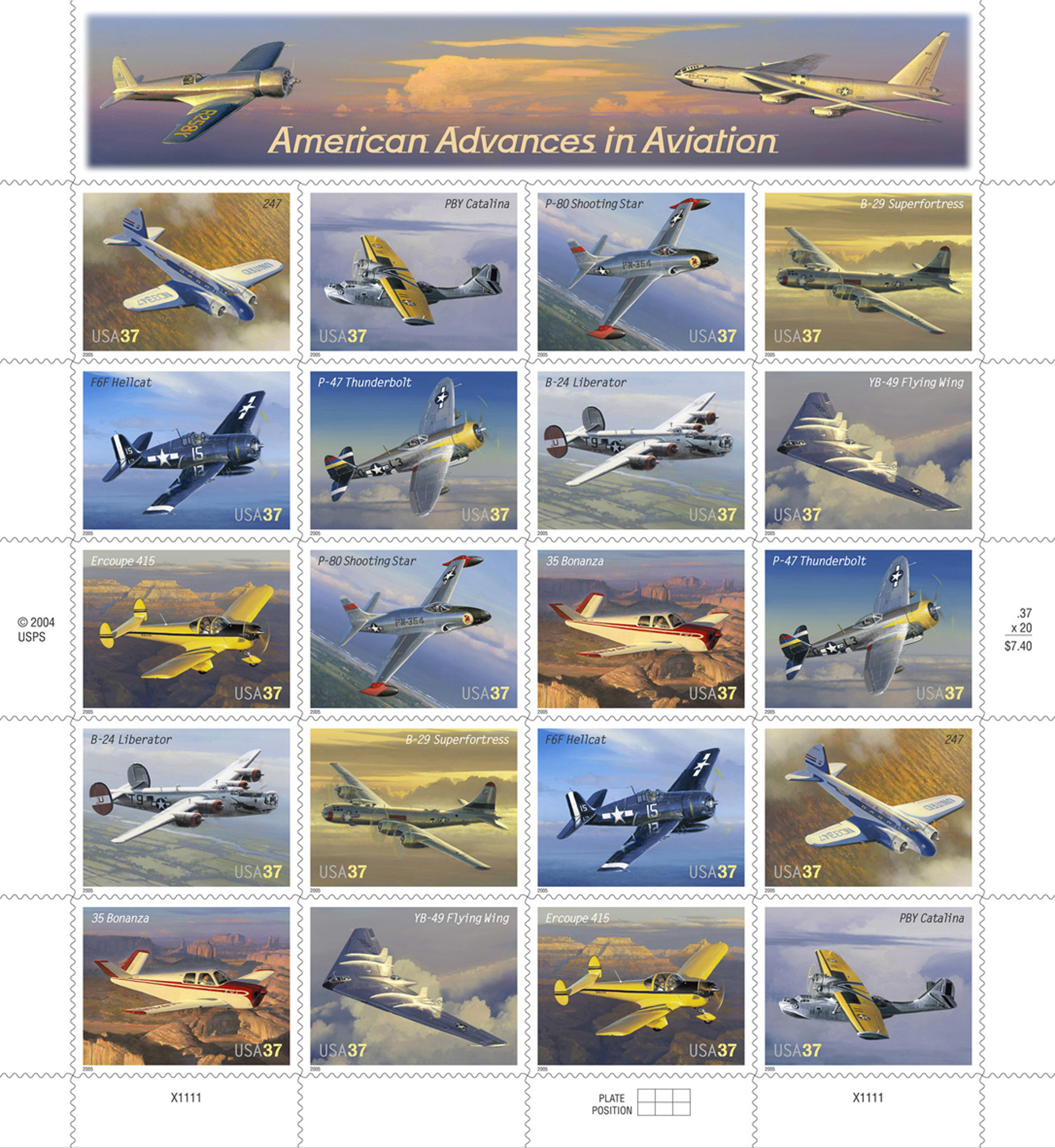 Aviation Stamps Take Flight