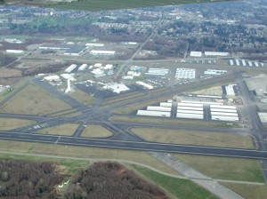 Paine Field, will be among the airports studied in a survey authorized by state legislature to determine where future commercial and air freight services may need to be developed to upgrade the state's network of aviation facilities.