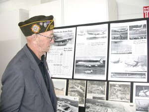 Cliff Hudson of Everett, 86, visited Paine Field's General Aviation Day for the reunion gathering of former military and civilians who had worked at the airfield since the early 1940s when it was built.