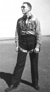 David Oreck as an aviation cadet in 1941.