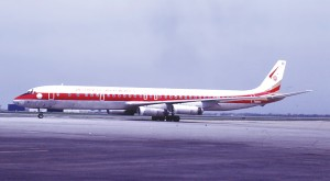 Ship 805 was the World Airways DC-8 used on the original Operation Babylift flight.