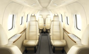 The Grob SPn Utility Jet features a modular interior, which can be easily adapted to fit different needs.