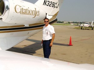 First Air FBO Line Service Manager Darren Domek.