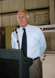 Speaking at a town hall meeting at Teterboro Airport, Jim Coyne, president of the National Air Transportation Association, announced a new air charter Safety Management System program.