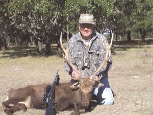 John Forehand, an avid hunter, often goes hunting with Piper customers that he considers to be good friends.