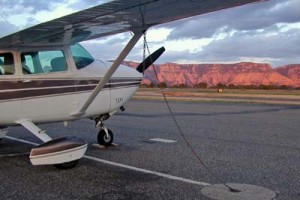 The beautiful red rock vistas of Sedona, Ariz. lure pilots from around the country.