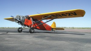 "Antiques like this Travel Air 6000 will be on display at the first annual fly-in, ""Thunder Over the Coconino,"" at Valle Airport (40G) on October 22."