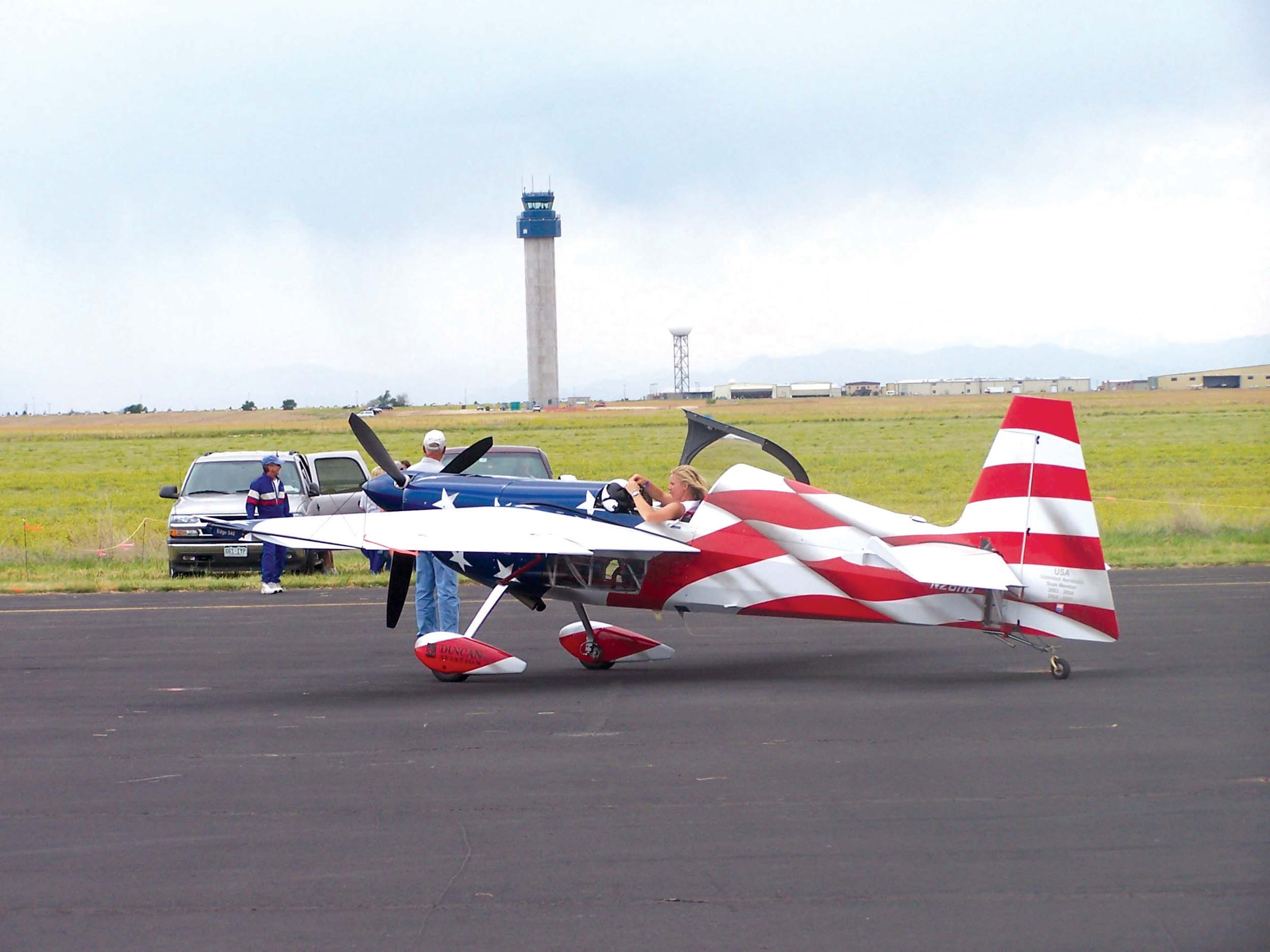 Front Range Airport Combines Rocky Mountain EAA Regional Fly-In and Tower Dedication