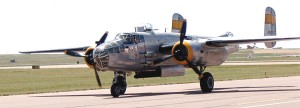 Greg Downing's Beechcraft C-45 bomber was flown in WWII by Gen. Ira Eaker. He flew missions in Europe and Italy.