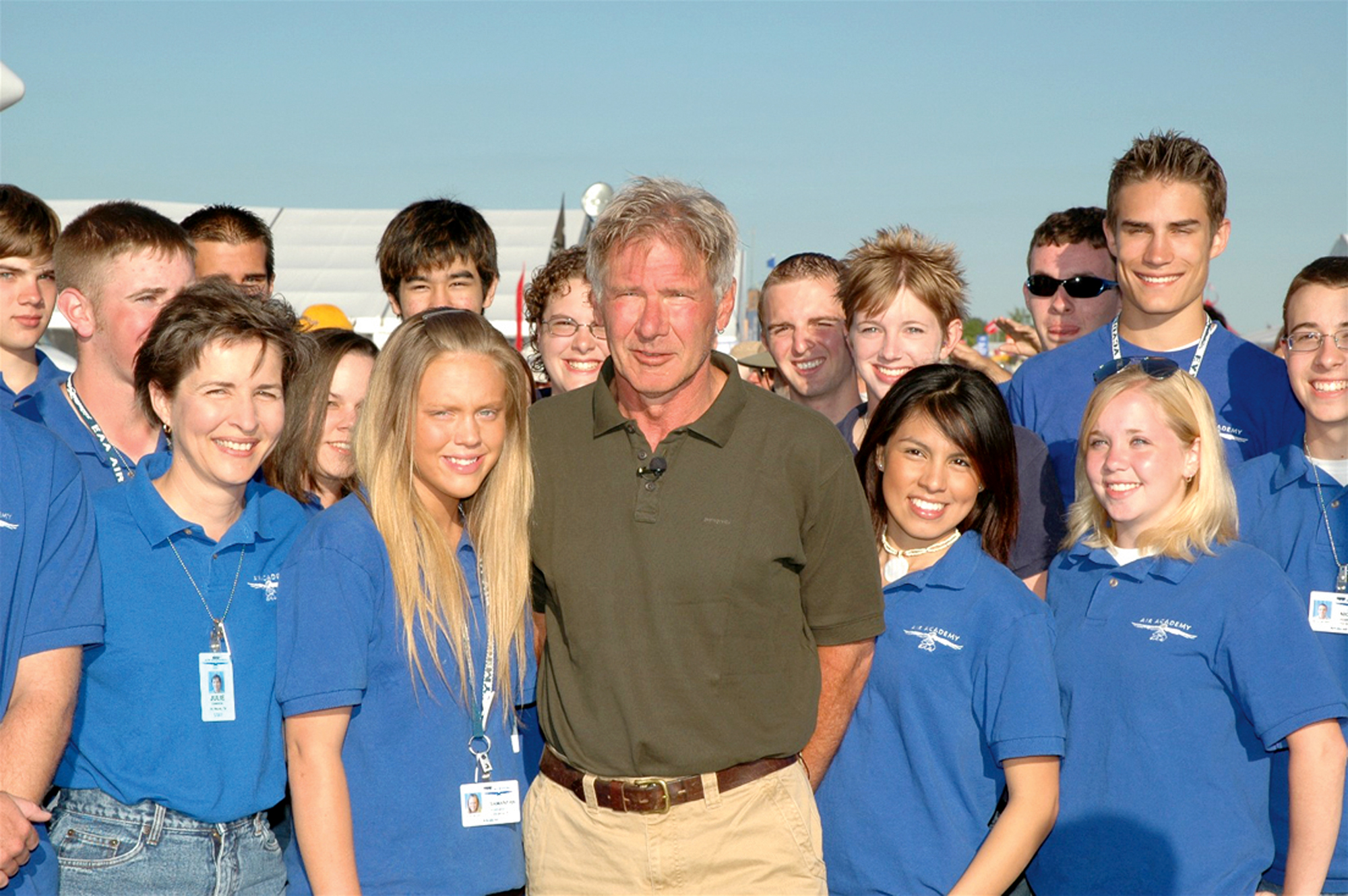 Harrison Ford: Promoting Aviation through Young Eagles