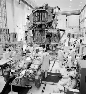 The Kennedy Space Center launch team continues the checkout of Apollo 17 flight hardware. A mission simulation to check out the lunar roving vehicle and all its systems was successfully carried out. Harrison H. Schmitt and Eugene A. Cernan.