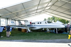 The Adam A700 made its third appearance at Oshkosh.
