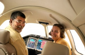 Ed and Nancy Iacobucci are team players in the aviation business.