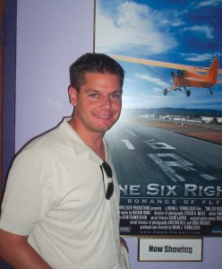 "Brian J. Terwilliger, producer and director of ""One Six Right,"" was happy with the great turnout for the documentary's first public screening."