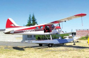 This colorful De Havilland Beaver was built in 1957 (Diamond Point).