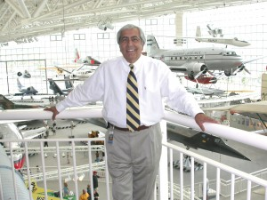 Ralph Bufano, retiring this month as president and CEO of The Museum of Flight in Seattle, has successfully increased the museum's collection of aircraft by 70 percent since he took the post 14 years ago.