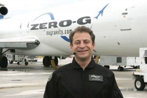 Dr. Peter Diamandis has founded more than a dozen ventures to extend the reach of human beings into space, including Zero-Gravity Corp., a space entertainment company providing weightless experiences aboard G-Force-One, a modified Boeing 727.
