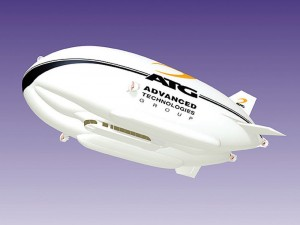 Denver-based Thin Air Group is working with UK-based World SkyCat Ltd. to develop an airship that would fly commuters from Colorado Springs to Denver. It's hoped that UK-based Advanced Technologies Group, will manufacture the blimps.