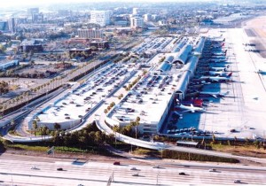 Aerial photo of John Wayne Airport.
