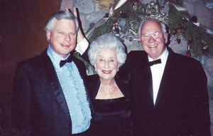 L to R: John Lear, Moya Lear and Bill Lear Jr.
